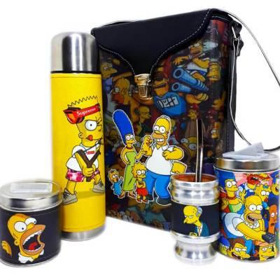 Set matero de Los Simpsons colección FLOR