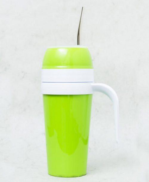Mate autocebante de Plástico color verde claro