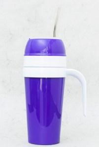 Mate autocebante de Plástico color violeta