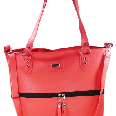 Cartera color coral