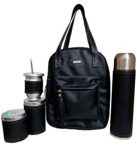 Set matero color negro colección Luli