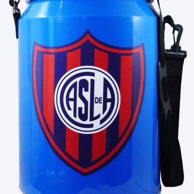 Conservadora con diseño del Club San Lorenzo