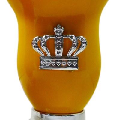 Mate corona amarillo por mayor