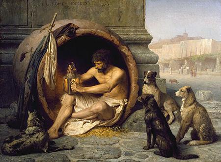 Diógenes de Sínope, el cínico