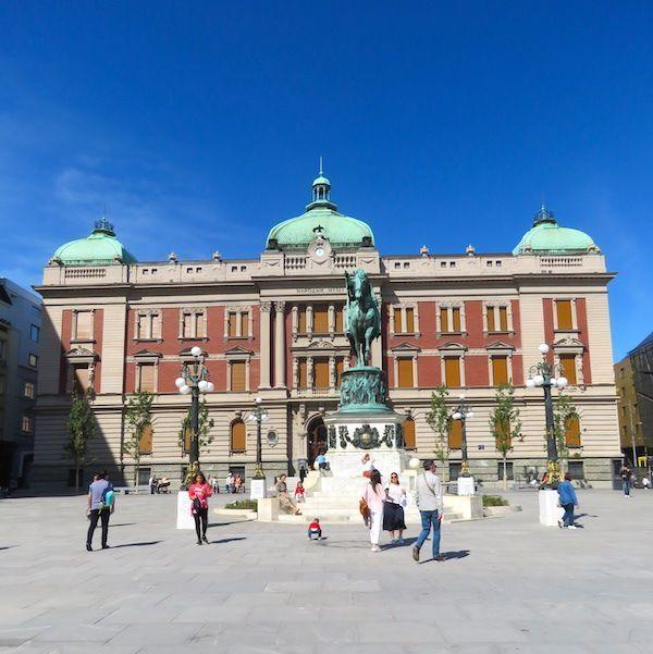 Plaza de la República en Belgrado - Foto Mundukos