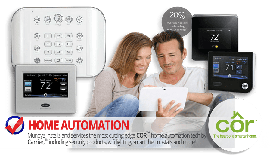 Mundys installs the latest in Home Automation Technology from Carrier