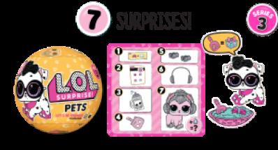 Sorpresas de la serie 3 Pets