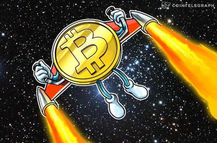 Bitcoin Crushes $9,000