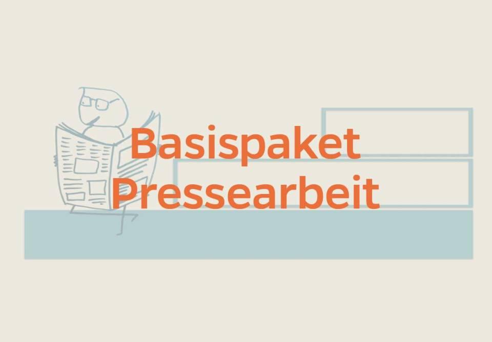 Basispaket Pressearbeit