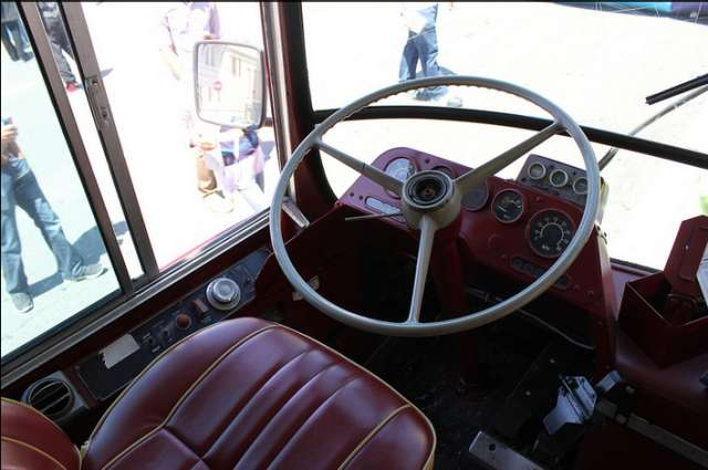 muni driver seat