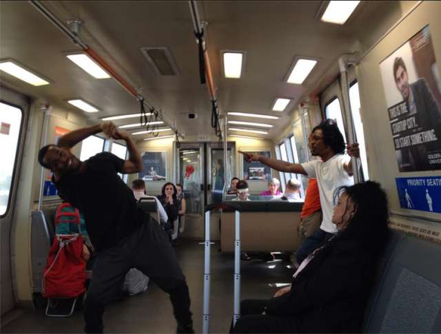 bart train dancers