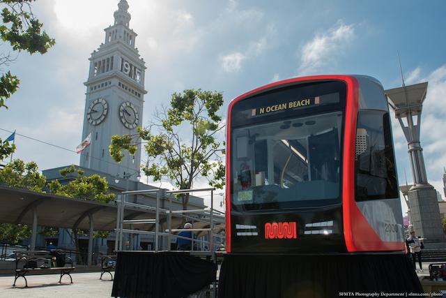 Model of new LRV built by Siemens | June 16, 2015