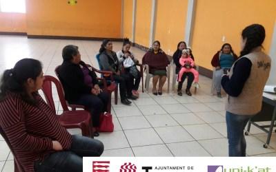Formación sobre  Cambio climático y equidad de género, dirigido a grupos de mujeres del Municipio de Esquipulas Palo Gordo.