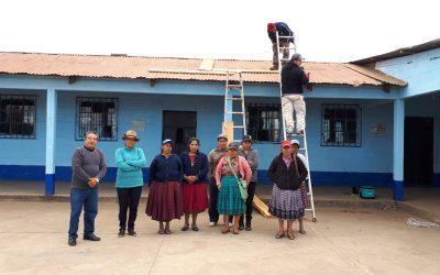 Proyecto de Reconstrucción de aulas en el Municipio de San Antonio Sacatepéquez.