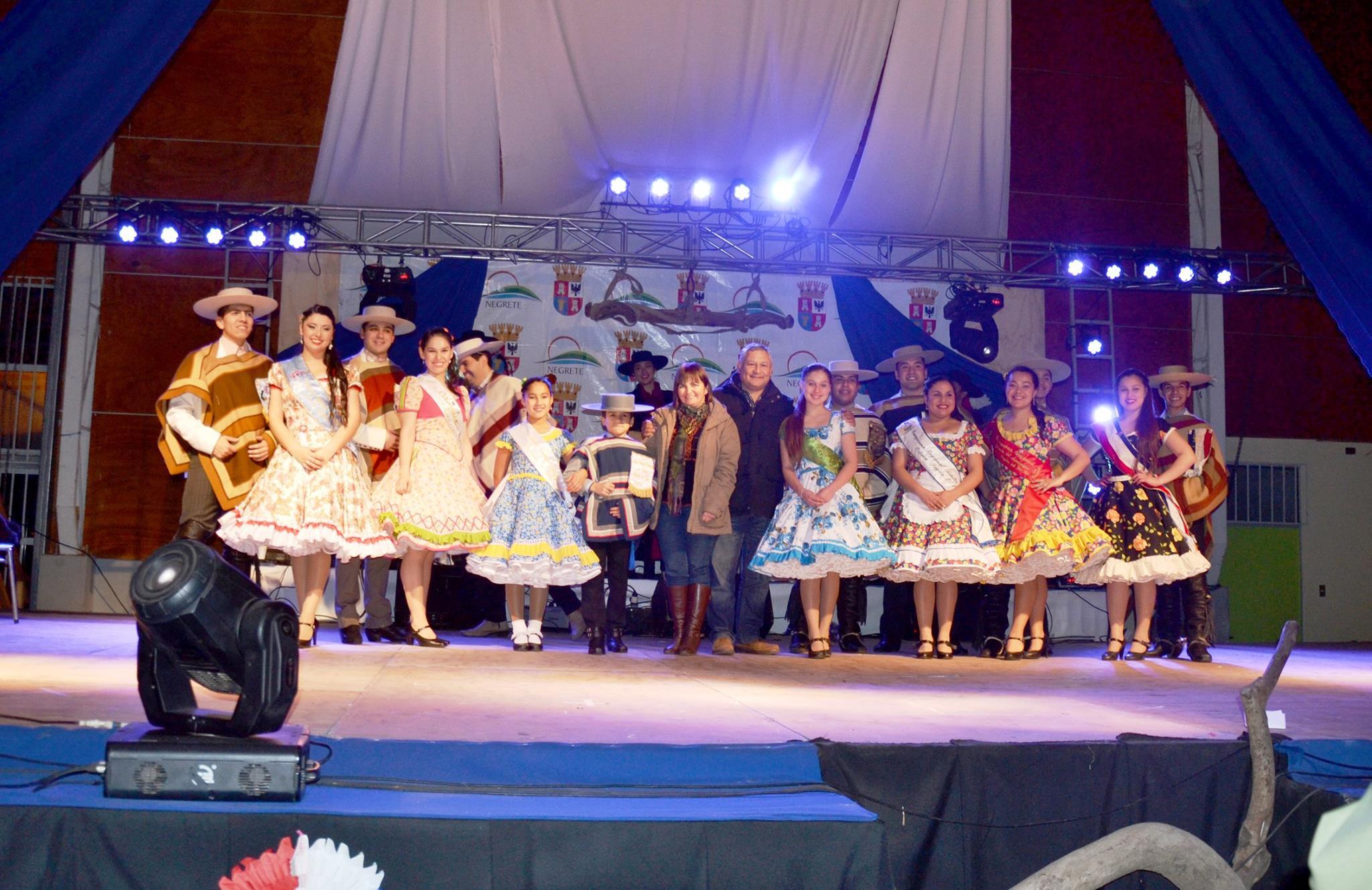 Negrete se luce con nueva versión de la Fiesta del Carmen