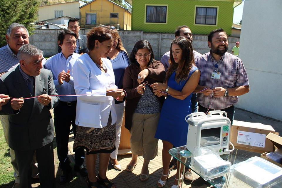 Cesfam Yanequén recibe nuevo equipamiento para el cuidado y tratamiento de sus pacientes.