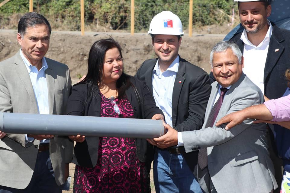 'Primera Piedra' Proyecto habitacional 'El Portal'