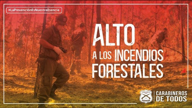 Prevención Incendios Forestales