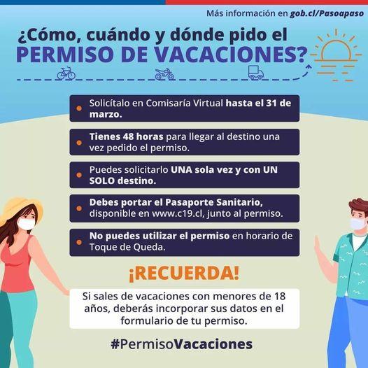 Permiso de Vacaciones