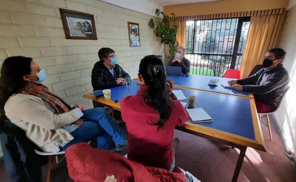 Reunión de Alcalde con Director Ejecutivo de Sepade