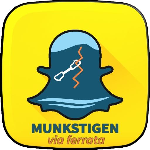 Munkstigen Via Ferrata snap chat filter