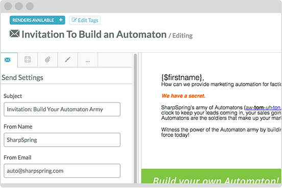Behavioral-Based Email Automation