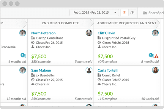 Built-in and 3rd-Party Munro Customer Relationship Management CRM