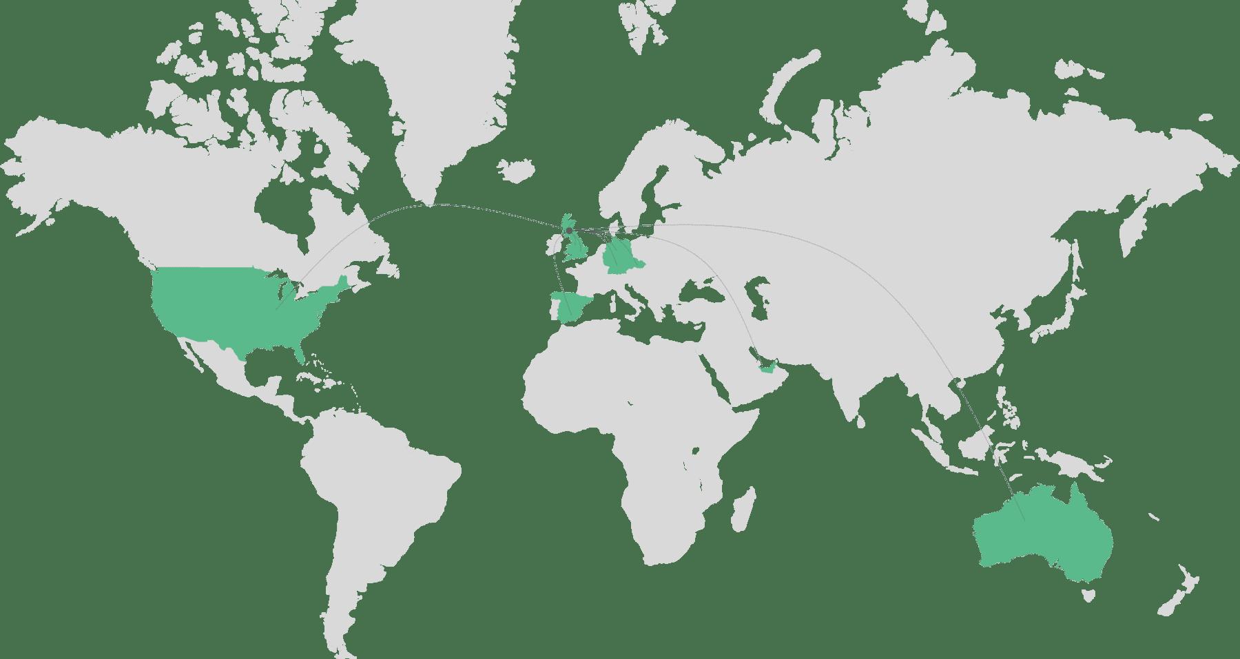 Global Footprint Cloient Munro Agency