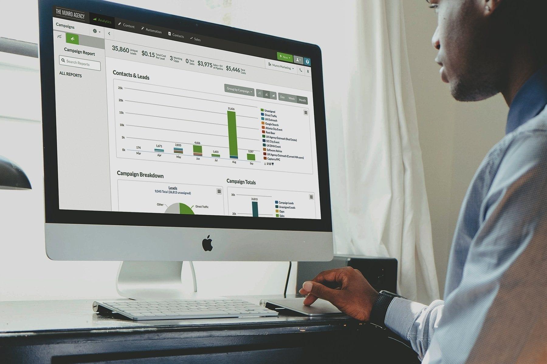 Munro Agency Marketing Website