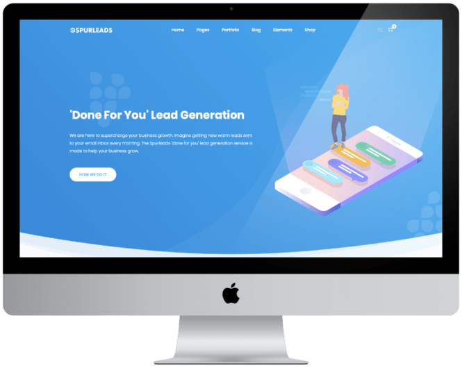 New Website Build and Design for Spurleads