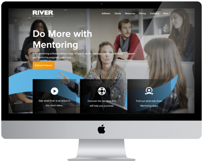 Website Design and Development River Mentoring