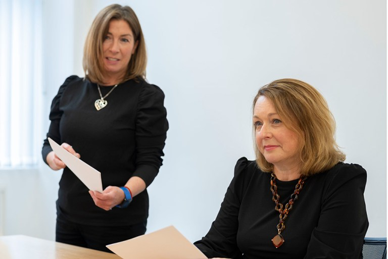 The legal team at work