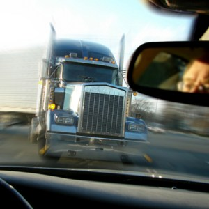 tractor trailer collision