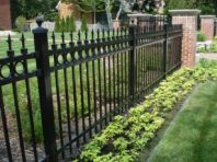 Wrought Iron Fence , Residential Fencing, Milwaukee Fencing contractors