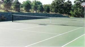 tennis court repair, Milwaukee, Tennis court paving, cracked tennis court