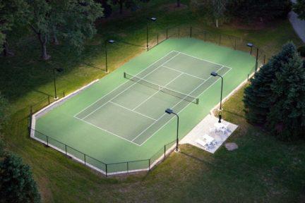 Tennis Court Construction Milwaukee, Wisconsin Tennis Court Construction, Tennis Court Construction
