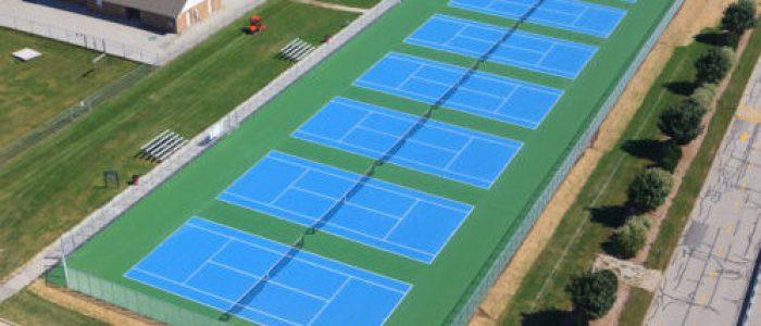 Tennis Courts, tennis court construction, Commercial Tennis court construction wisconsin