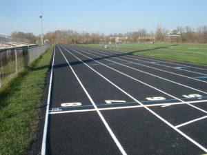 Running track construction Waukesha