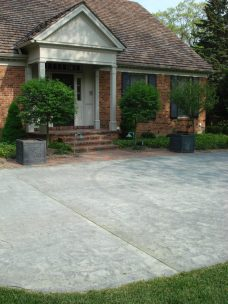 residential concrete paving, milwaukee, paving