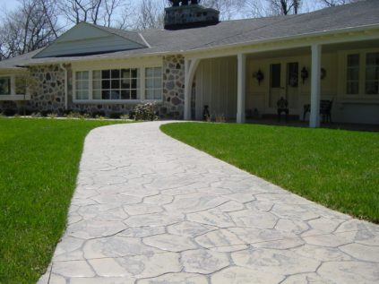 Concrete Contractor Wisconsin, Stamped Concrete, paving