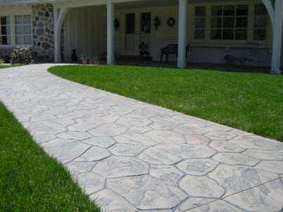 decorative concrete, paving, Milwaukee, Pavers, concrete, stamped