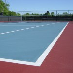 Tennis court paving, tennis court repair