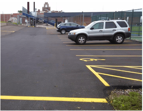 parking lot repair, parking lots, asphalt, black top, milwaukee