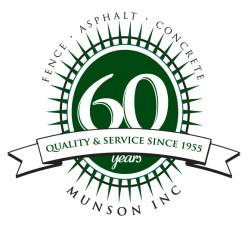 Munson Inc, Milwaukee Asphalt, Sealcoating, Milwaukee, Fencing, fence, paving