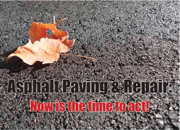 Asphalt paving and repair,