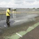 tennis court repair, surface repair, Tennis court