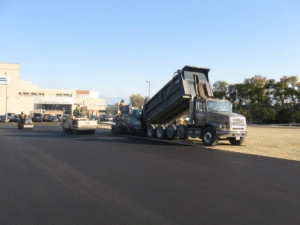 asphalt paving, parking lot paving, parking lot construction, commercial asphalt,
