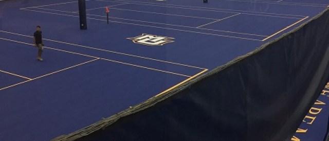 tennis court consruction