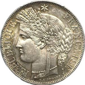 5 frank in sterling zilver Ceres - Frankrijk