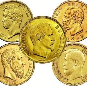Pièces en or 20 francs union latine